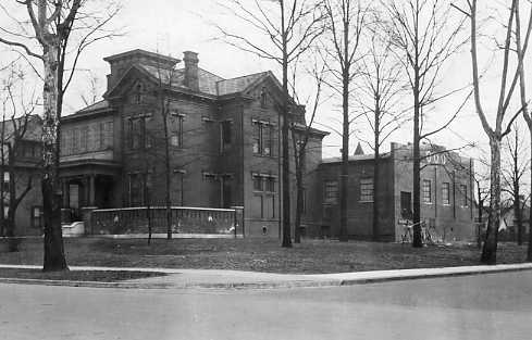New Owls' Home circa 1923