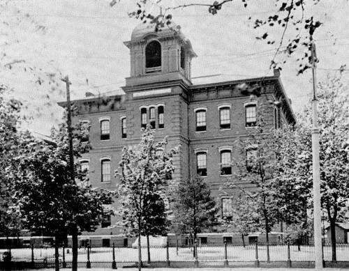 Fulton Ave School in 1894