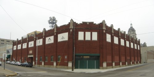 Old Central gymnasium now part of the YMCA