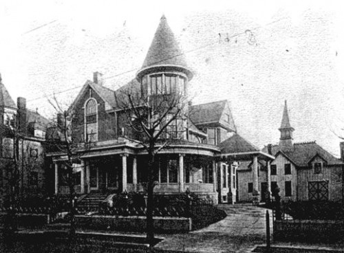 Residence of Henry Stockfleth ca. 1904