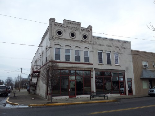 Bauer Building at 621 and 619 N Main St